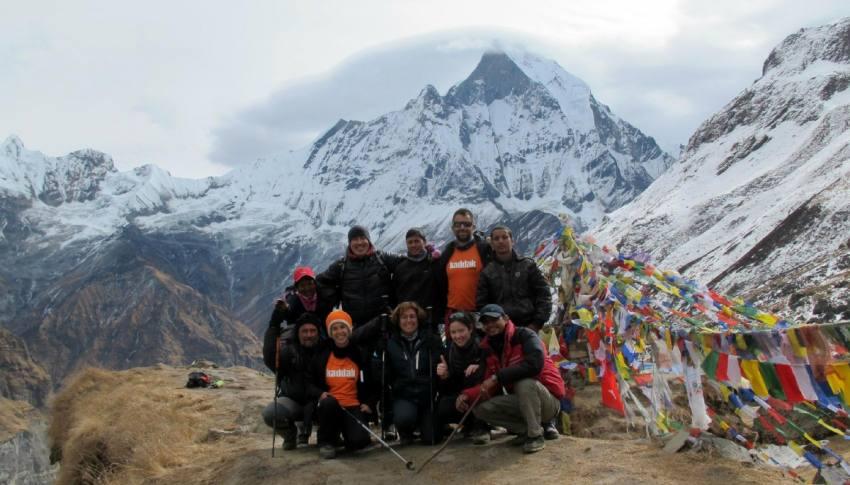 Campo Base del Annapurna (ABC)