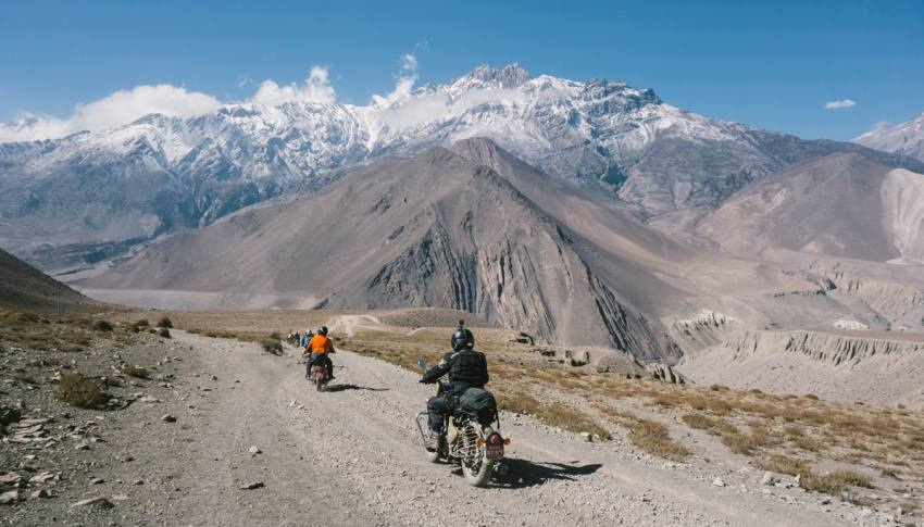 Royal Enfield Upper Mustang Tours