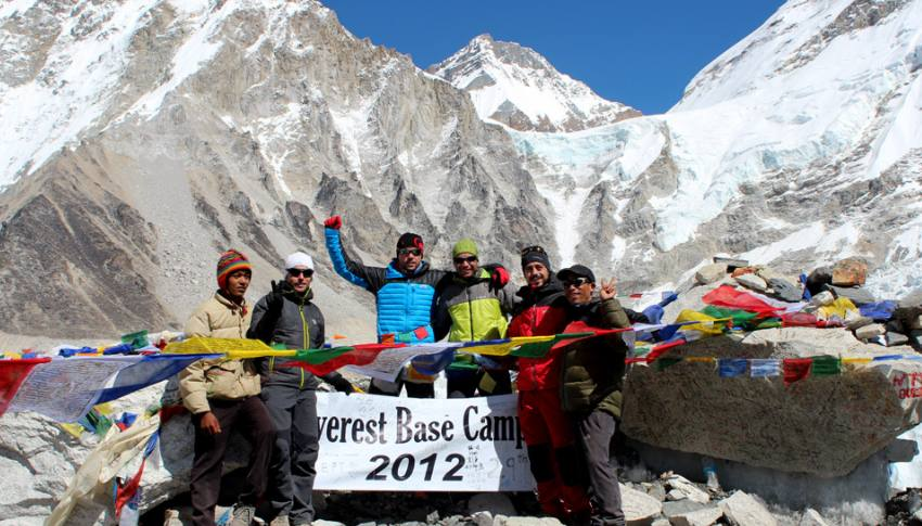 Trekking al Campo Base del Everest (EBC)