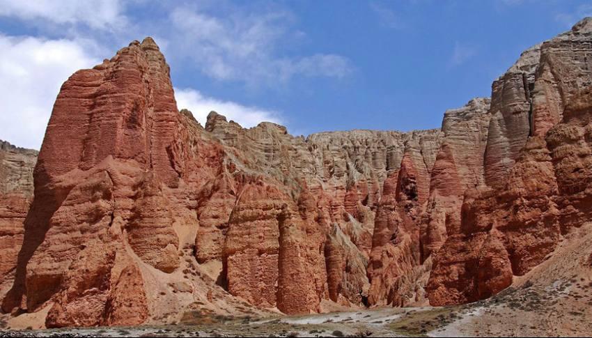 Trekking del Mustang Superior