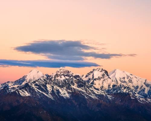 Mount Langtang Range
