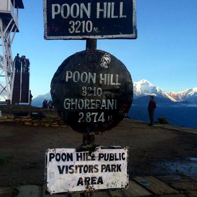 Trekking al Ghorepani Poonhill