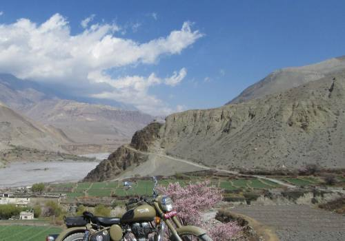 Royal Enfield Lower Mustang Tours