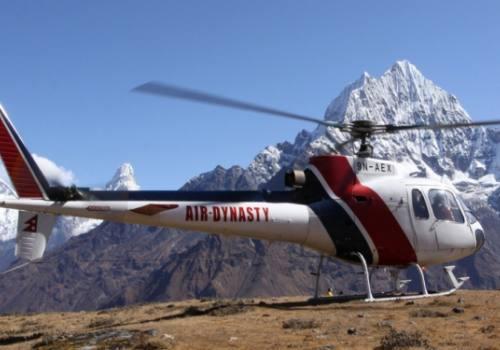 Tour en helicóptero Mustang